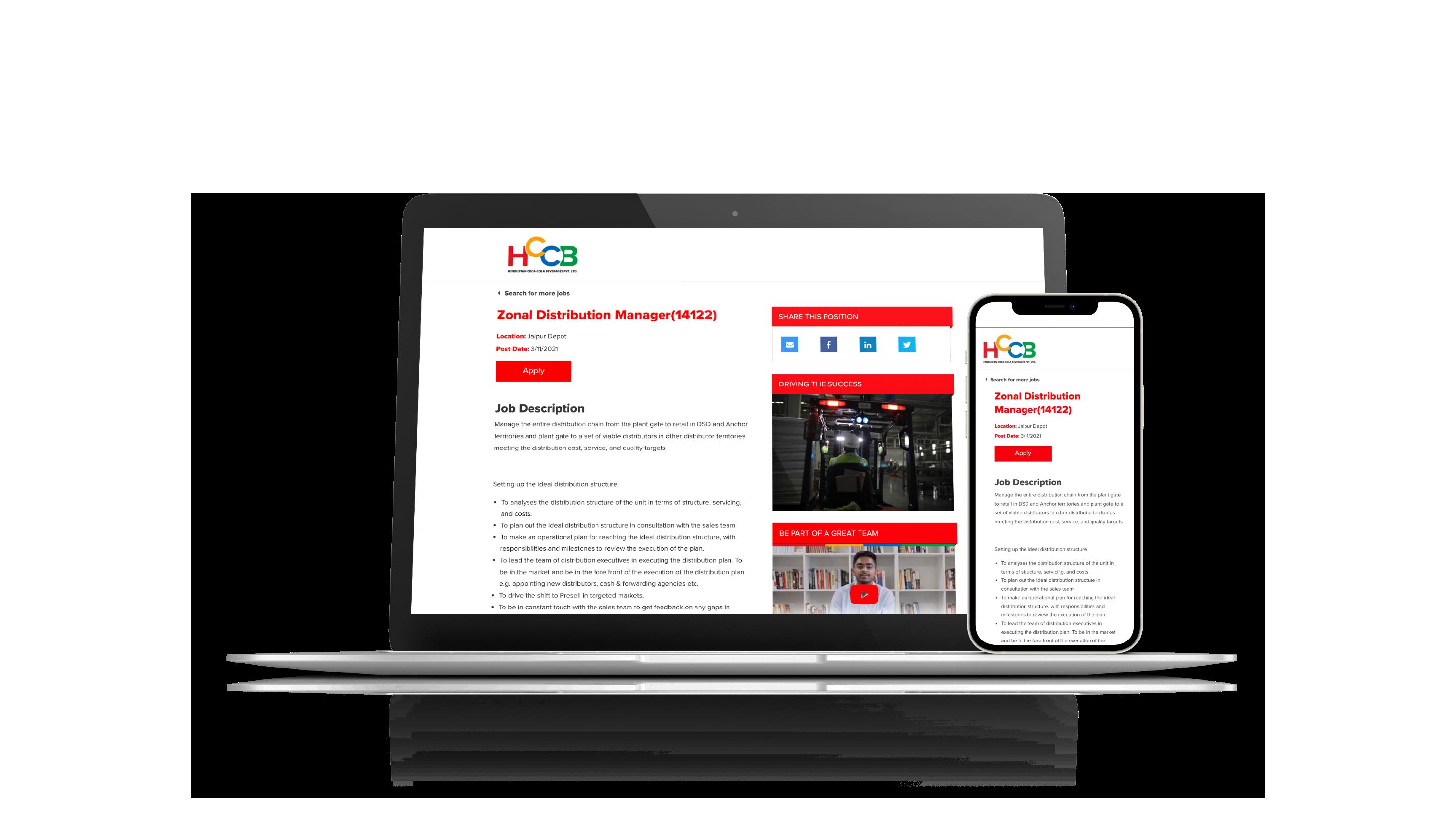 Micro Career Website